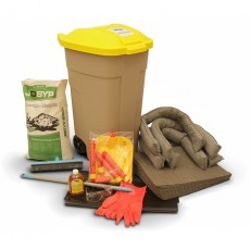 USK 104 C - Wheeled container universal spill kit